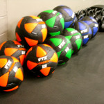 Walls balls and kettlebells